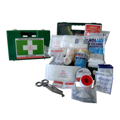 Cuisine Small Plastic First Aid Kit 470x470 - Cuisine First Aid Kit (Small Plastic)