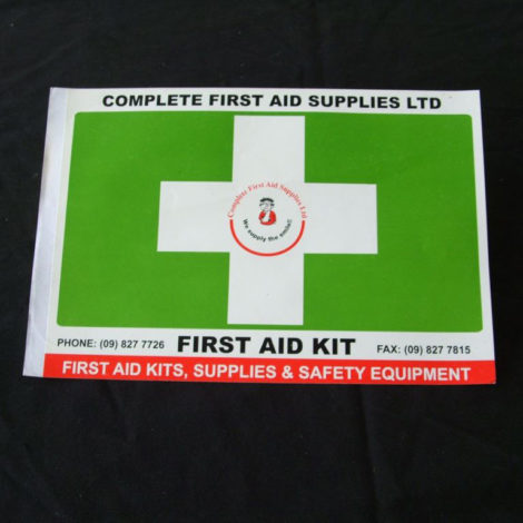 First-Aid-Green-Cross-Sticker-Large